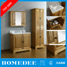 classic bathroom wash basin cabinet with mirror