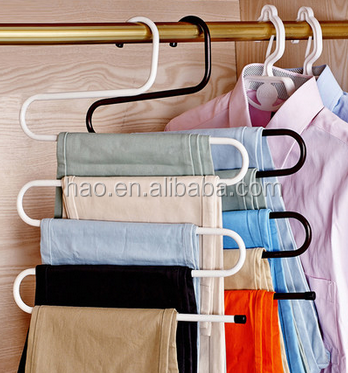 Hot sale space saver light weight bead clothes hanger