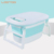 Wholesale cheap price price plastic folding infant 2 years claw foot baby bath tub with bath seat
