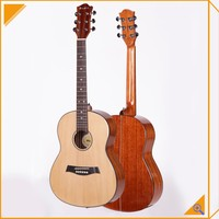 handmade spruce plywood good price acoustic guitar