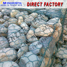 Wire Cages Rock Wall/Rock Filled Gabion