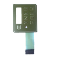 Tactile Membrane Switch Keyboard Panel for Industrial Equipment