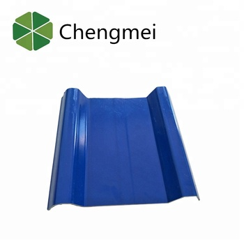 corrugated hollow pvc roofing sheet/heat resistant /corrugated plastic sheet