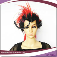 American Mohawk spike Men synthetic party Wigs