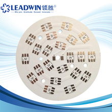 round aluminum print circuit boards for led light