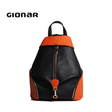 China Wholesale European Style Fashion Small Leather Backpacks For Teen Girls