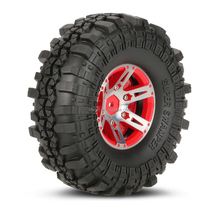 Wheel Rim with Tires for 1/10 scale D90 SCX10 RC Rock Crawler
