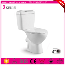 Ceramic Toilet Design Two Piece P Trap Bathroom Commode