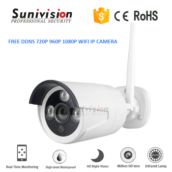 "720P/960P/1080P 1/4"" or 1/3"" Progressive Scan Sensor 4/6mm lens wireless outdoor security cameras"