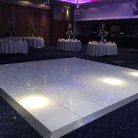 Best Price Wedding Illuminated Disco Portable LED Starlit Dance Floor