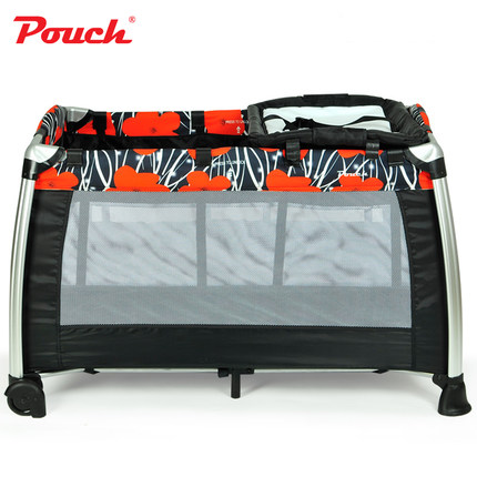 Adorbaby Pouch H13 Baby Bed Play Yard Infant Travel Sleeper Baby Portable Cot breathable folding baby crib outdoor for travel