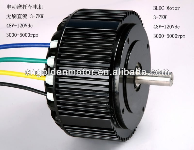 Brushless Dc Motor For Electric Car Electric Motorcycle