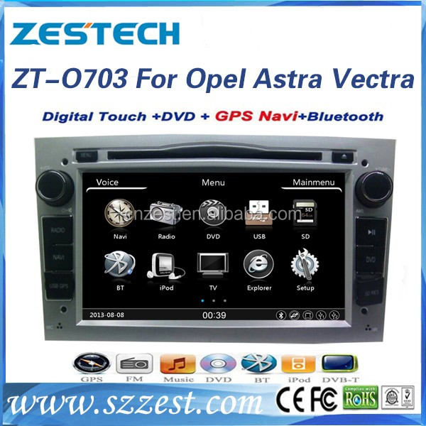 High quality 2 din 7 inch car audio for Opel Astra j pioneer car audio dvd player with car gps music player