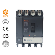 NSX 400A 4P electrical switchgear rotary handle circuit breaker