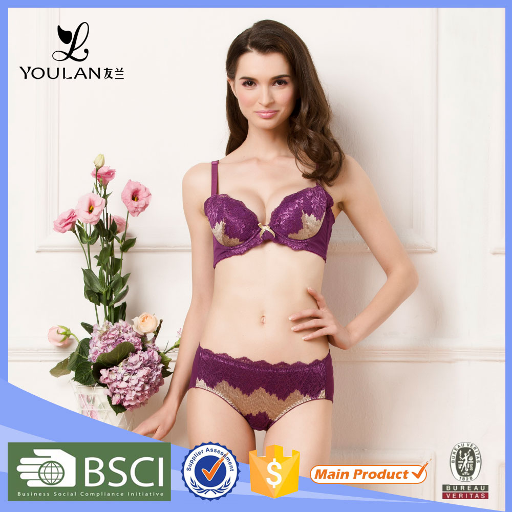 Hot Design Cute Ladies Sexy Night Wears Hot Lingerie Mini Bra Sets