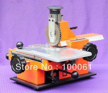 Small Metal Plate Number Hand Press Machine for Metal