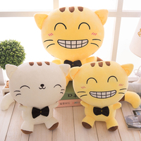 breathing cat inflatable plush animals