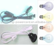 Table lamp cord