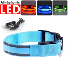 Best Sell Cheap Price Chargeable Collar Recharge Pet Collars Charge Led Dog Collar