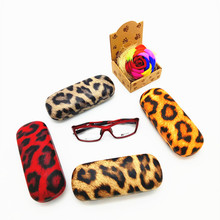 Hot sale classic hard eyeglasses case custom pattern metal spectacles box BENQIAN BQ2051