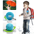 Waterproof 130DB Blue Student Emergency Personal Security Alarm with Keychain Wrist Strap