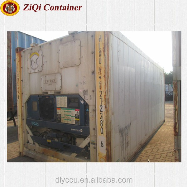 China supplier 20ft/40ft HC HQ used reefer container high standard good prices for sale in Liaoning