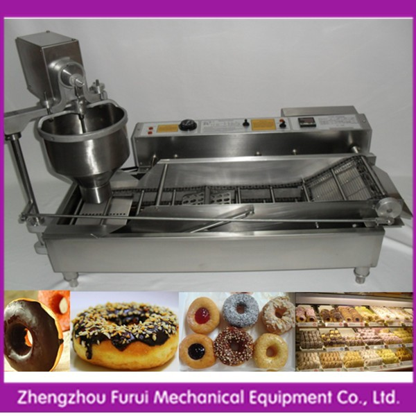 2014 hot sell automatic donut making machine for sale/donut making equipment/baked donut machine