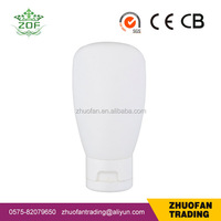 120ml oval shape HDPE BB bottle