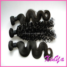 Full Cuticle Attached Natural Black womens hairpiece