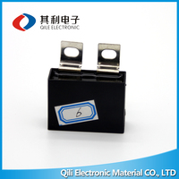 Customized Type and Size Metalized polypropylene film capacitor/AC Fan Capacitor CBB61