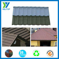 Stone chip coated good product types of roofing tile