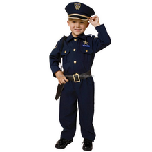 Custom wholesale kids police costume