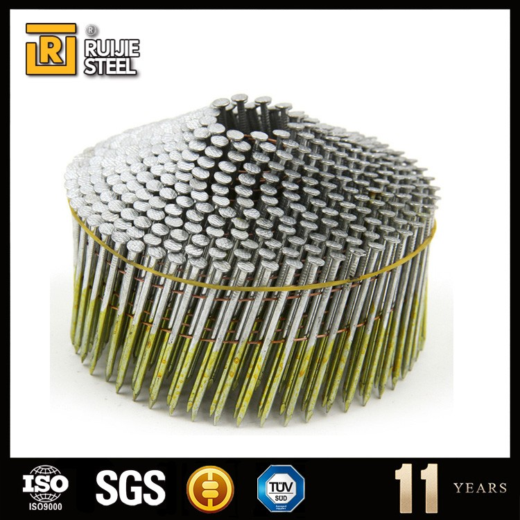 Cheap Wholesale stainless steel Factory coil nails manufacturer/Galvanized roofing nails/coil nails