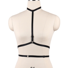 Sexy Body Harness Women Fetish Wear Bondage Harness Belt Gothic Body Cage O0050