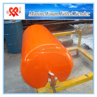 High quality boat accessory floating anti-collision marine foam filled fender