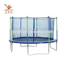 15ft second hand trampolin/trampoline with safety enclosure for sale