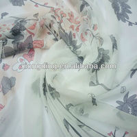 printed polyester georgette fabric for scarves and dress