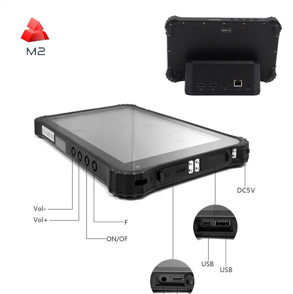 8inch Android 3G IP67 Rugged Tablet Terminal Wifi Bluetooth 4g lte Tablet industrial panel pc