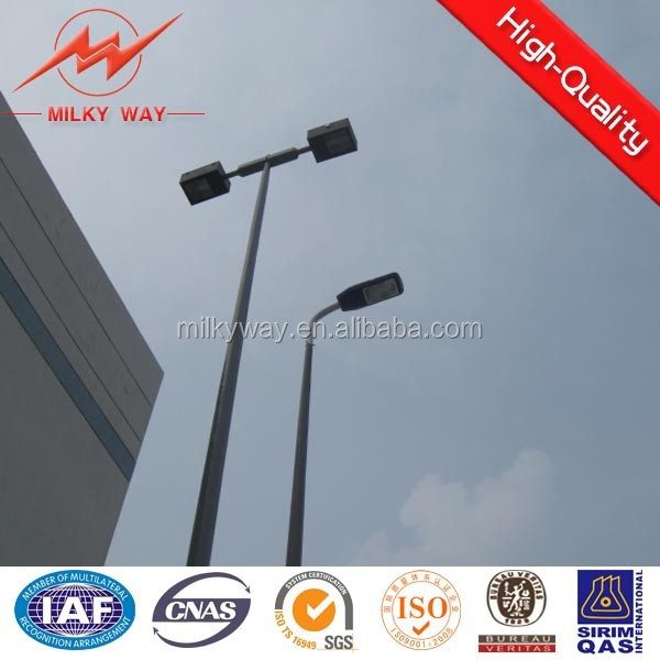 high way 6m solar lamp post manufacturer