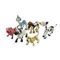 cheap cute animal world planet plastic toys