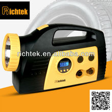 LED light michel tyre sealer and inflator,Top sale tire sealer and inflator,low price air inflator for car tires(RCP-C25A)