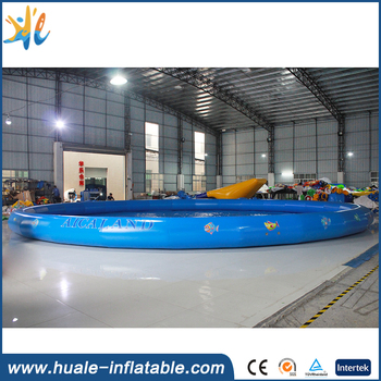 exciting large inflatable swimming pool equipment water games
