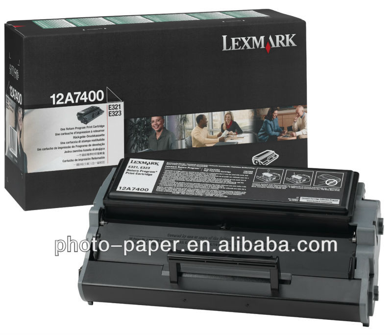 (12A7400) E321/E323 Black Toner Cartridge