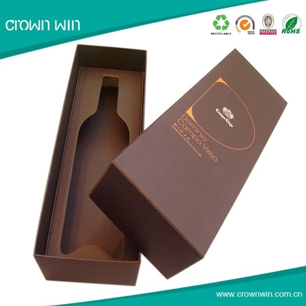 New Model Recycle Wine Cardboard Gift Box