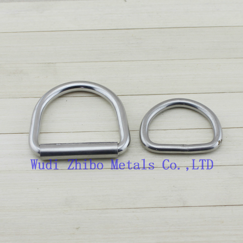 High quality Metal rigging hardware welded D ring /S ring