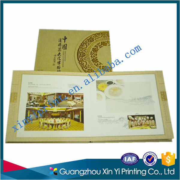 Customized Eco-friendly Material hard cover book printing