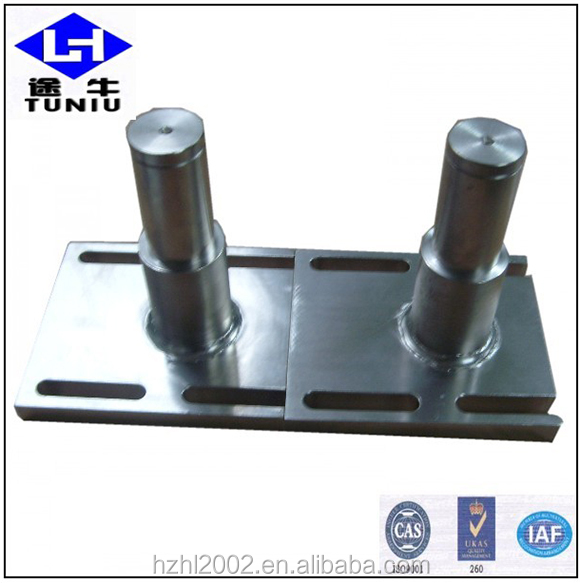 Engineering fabricate auto body spot cnc machining Testing Machine parts