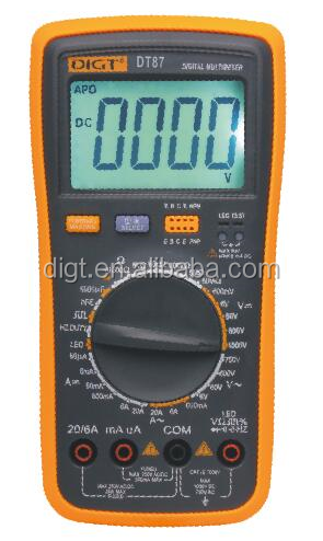 china low price best quality digital multimeter manual