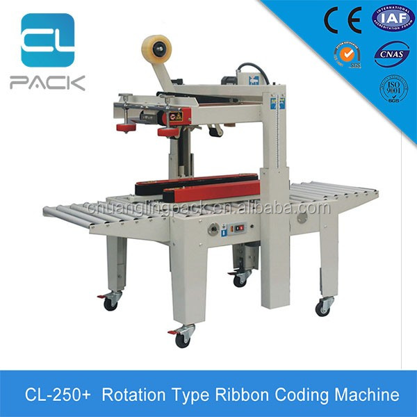 New Style Simple Operation Semi-Automatic Semi Automatic Carton Box Tape Sealing Machine