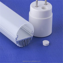 T8 oval led tube light component for LED lamp tube